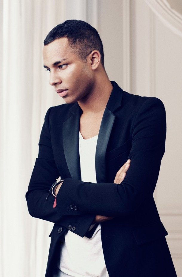The Negro Running Paris…Olivier Rousteing....