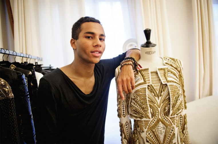 The Negro Running Paris Olivier Rousteing The Flyy Life