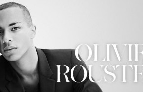 The Negro Running Paris…Olivier Rousteing….