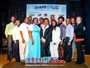 Step Up. Get Tested. Presented an Evening of Inspiration with Jenifer Lewis..Pics