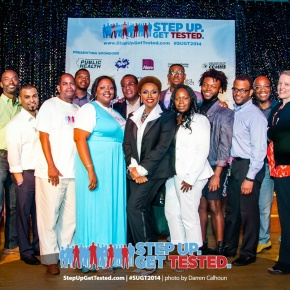 Step Up. Get Tested. Presented an Evening of Inspiration with JeniferLewis..Pics