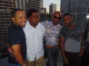 Chicago's Black Pride Welcome Reception Rooftop Party..Inn of Chicago…(pics)